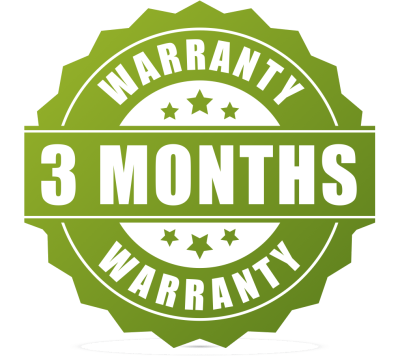 3 monthes warranty